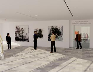 Galleries of Contemporary Art receives $1 million naming gift