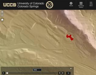 Interactive map shows 50 years of UCCS