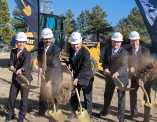 UCCS, Penrose-St. Francis break ground on Hybl Sports Medicine and Performance Center