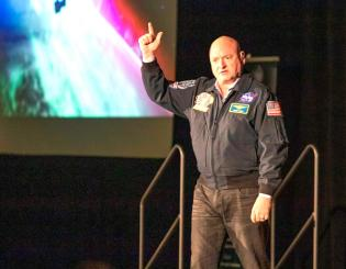 Scott Kelly: 'The sky is not the limit'