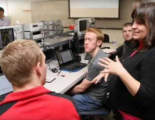 Keysight donates equipment to UCCS engineering labs