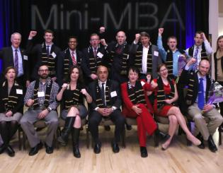 Inaugural Mini-MBA class creates nearly $2.9 million in business impact