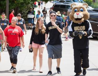 Photo and video feature: Student move in, Mountain Lion Rally, GPS