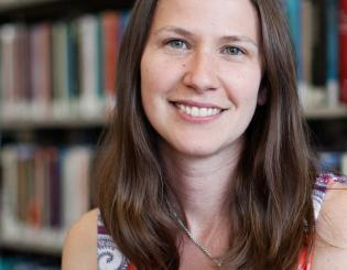 Faculty profile: Being a librarian is about more than books for Tabby Farney