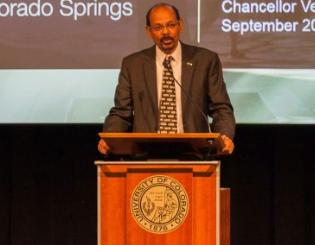 Reddy: 'Great things are in store for this campus'