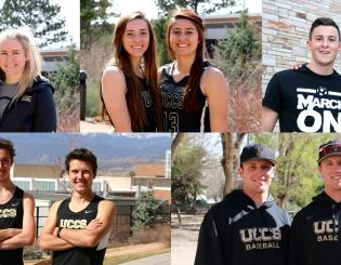 Sibling rivalry takes on new meaning for UCCS athletes
