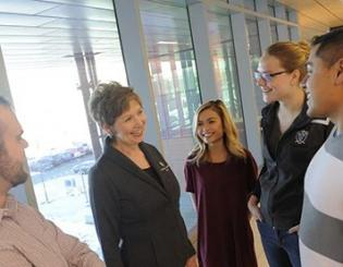 Horrell to help university 'fulfill what's possible'