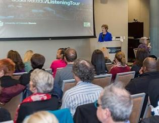 Chancellor Horrell launches Reach Out and Listen Tour, sets high aspirations for CU Denver