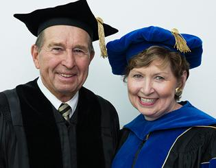 Wartgow receives honorary CU degree