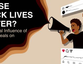 Whose Black Lives Matter? The Political Influence of Racial Appeals on Instagram