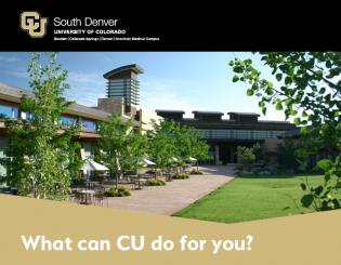 CU South Denver Survey