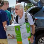 Durham volunteers at fall move-in for 22nd year in a row