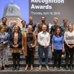 Student-nominated faculty, staff recognized with Marinus Smith award