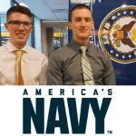 Two CU engineers to serve as officers in Navy's submarine force