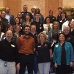 Representatives from CU staff councils visit State Capitol