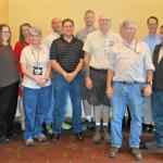 Facilities Management staff celebrates mentoring