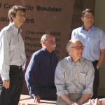 Behind the scenes: CU Boulder's Nobel laureates gather for campus photo