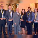 Four employees, alumni and partners receive Mayor's Young Leader Award
