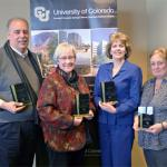 Staff members honored for service to campuses, greater communities