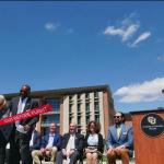 New aerospace engineering building launches, gets VIP visits