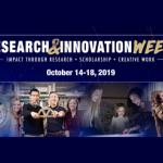 Expert panels, student showcases headline Research and Innovation Week Oct. 14-18