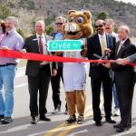 Campus, city leaders celebrate Clyde Way with ribbon-cutting: 'A true win-win'