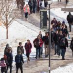 Spring enrollment sets new record