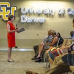 Campus Conversation highlights budget and enrollment increases