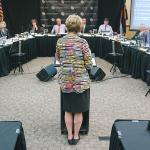 Chancellor Horrell updates regents on her 80-day Reach Out and Listen tour, says CU Denver is a 'can-do' institution