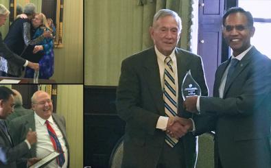 Faculty Council celebrates year-end awards