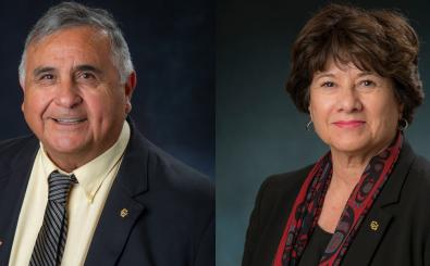 Five questions for Glen Gallegos and Irene Griego
