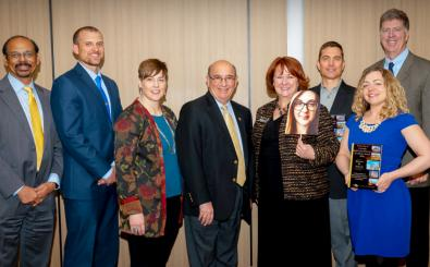 Positive forces at CU and beyond: Four honored with Service Excellence Awards