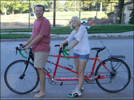 Mark Meier and daughter Anna will team up for the second leg of his cross-country bicycle tour.