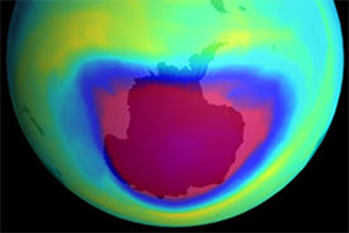 a study on the ozone layer The ozone layer that protects life on earth from deadly ultraviolet radiation is unexpectedly declining above the planet's most populated regions, accordin.