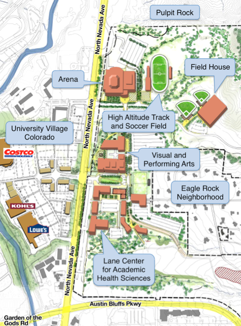 Uccs Campus Map Reverse Search