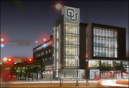 Groundbreaking on CU Denver's signature building set for this morning
