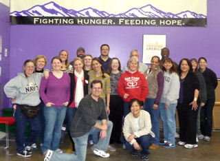 HR, finance teams pitch in at Food Bank of the Rockies