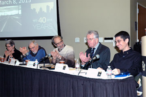 Faculty panelists recall CU Denver history