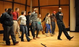 Capacity crowd sees Step Afrika! highlight cultures