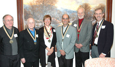 Faculty recognized for 25 years of service