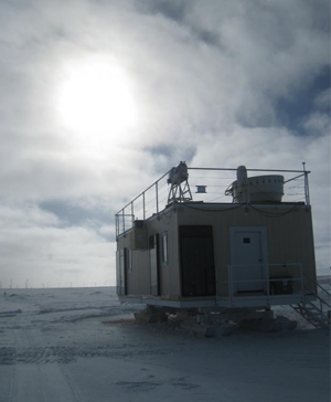 Thin, low Arctic clouds played important role in massive Greenland ice melt
