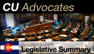 CU Lunch and Learn: Legislative Summary