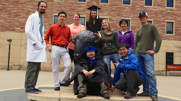 Dr. Rui Yi's lab staff at the University of Colorado Boulder.