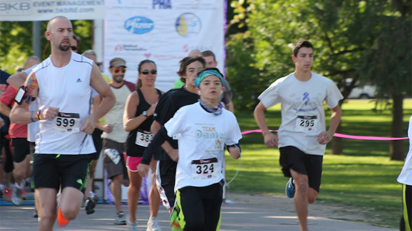 Run gives hope to those coping with rare lung disease