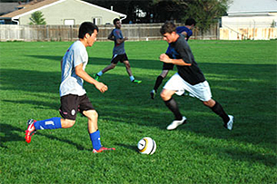 Newest club sports team reflects campus's growing international student body