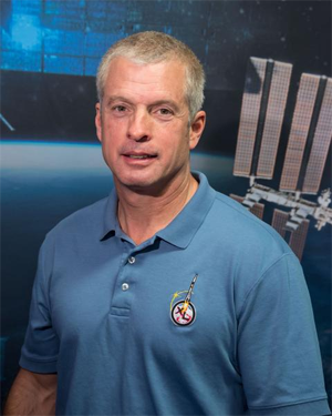 University of Colorado Boulder alumnus and NASA astronaut Steve Swanson