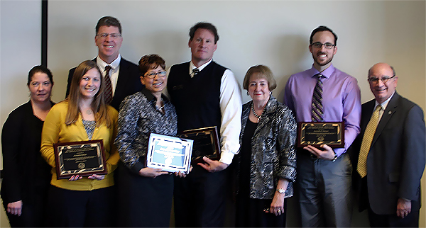 Staff Council's annual honorees