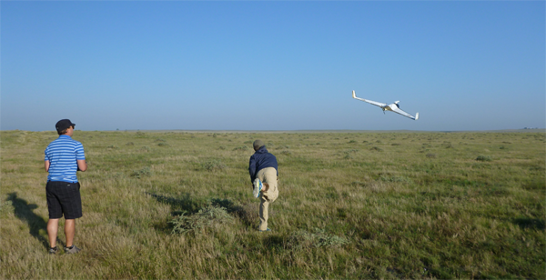 An international team of scientists and students led by CU-Boulder used multiple unmanned aircraft to simultaneously intercept the outflow of a thunderstorm at Colorado's Pawnee National Grasslands earlier this month. Such data should help scientists better understand extreme weather tied to tornado activity.