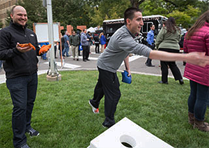 Anschutz Block Party a success despite brisk weather