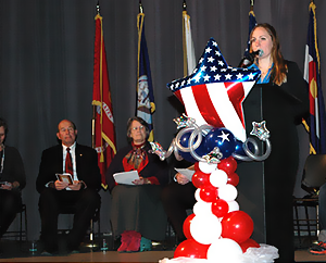 Veterans Day Ceremony recognizes service members for their duty, selfless service and integrity